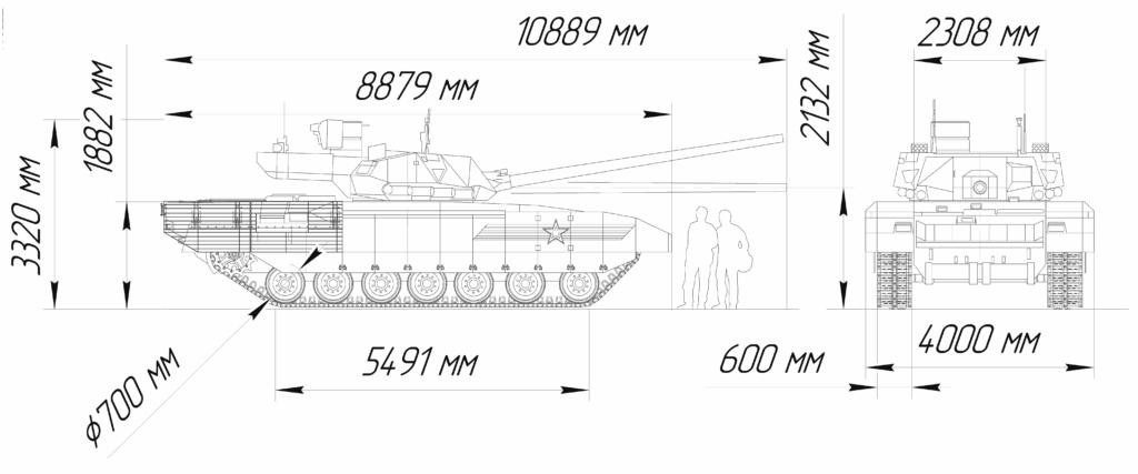 T-14 Armata Blueprint